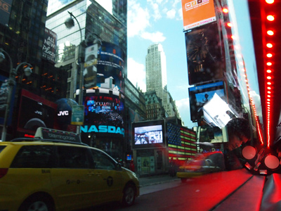 times square by limo