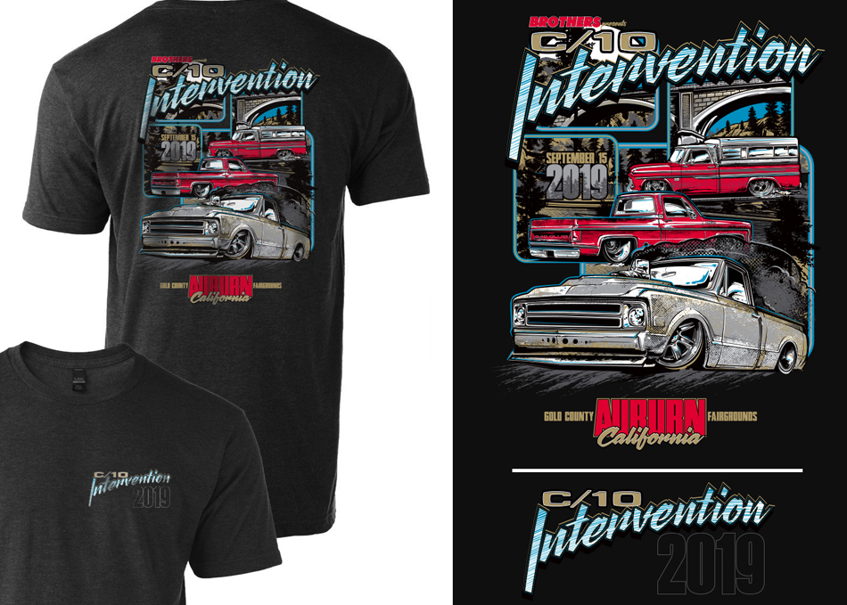 2019 C-10 intervention t-shirt artwork