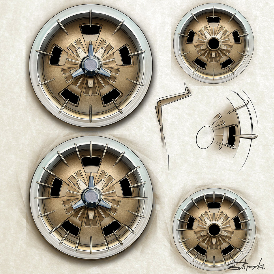 CAL MODL-A WHEEL DESIGN AND CONCEPT BY BRIAN STUPSKI
