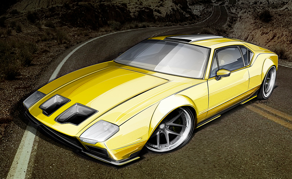 Ring Brothers Pantera rendering by Brian Stupski